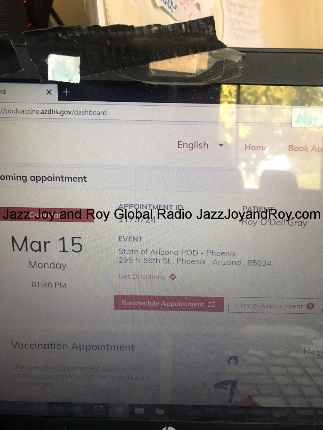 Roy's Vaxxed Facts Trailer - Click or tap one of the five cars pictured above here on JazzJoyandRoy.com about once every two or threee hours or whenever you wish to refresh JazzJoyandRoy.com